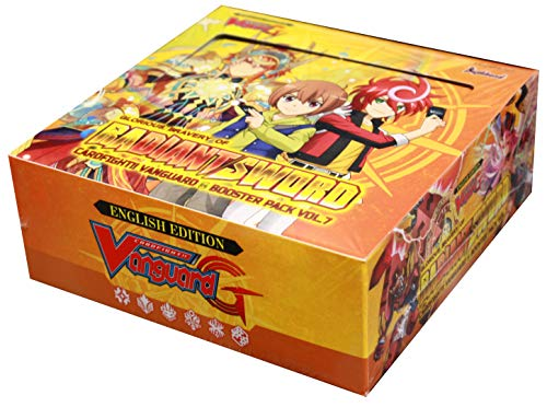 Cardfight Vanguard G VGE-G-BT07 Glorious Bravery Of Radiant Sword Booster Box - 30 packs / 5 cards