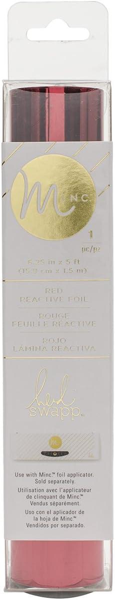 American Crafts MINC Reactive Foil 6 Mint /& Light Pink por Heidi Swapp