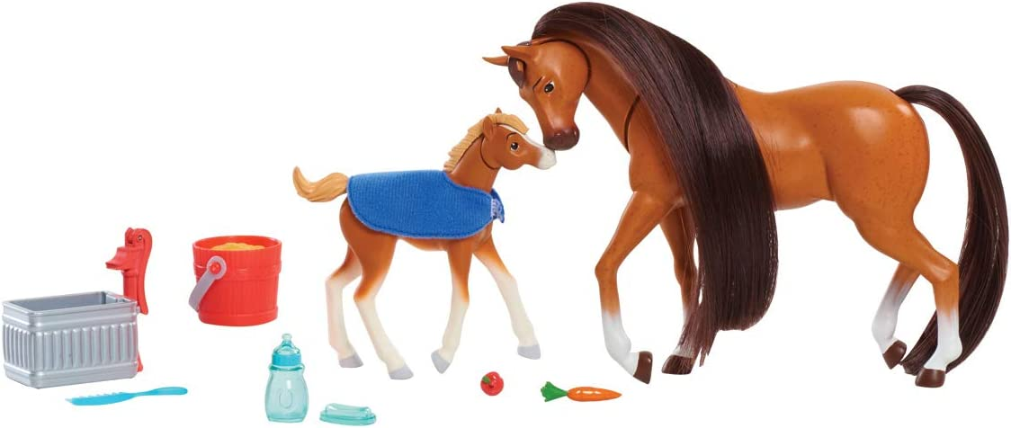 Spirit Riding Free Feed & Nuzzle Horse Set - 2 Pack