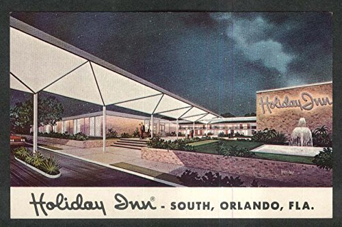 Holiday Inn 4049 South Orange Blossom Trail Orlando FL postcard 1950s from The Jumping Frog