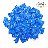Soft Foam Earplugs,100Pair 34db Highest NRR,Hearing Protection for Sleeping Reduce Noise Quiet Please Ear Care and Comfortable, Snoring, Work, Travel,Loud Events,Shooting,Concerts,Studying Blue (100)
