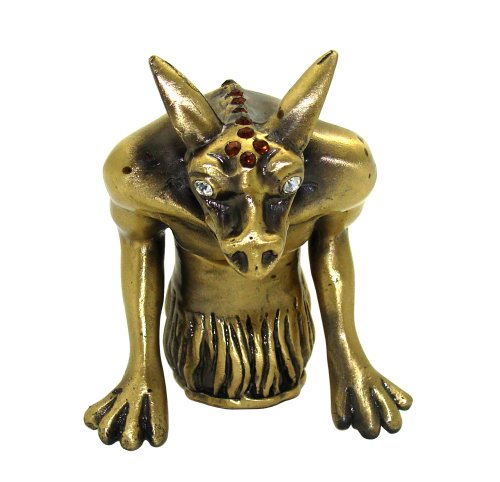 Objet D'Art Release 419 The Gargoyles Of Notre Dame Architectural Statue Handmade Jeweled Enameled Metal Trinket Box
