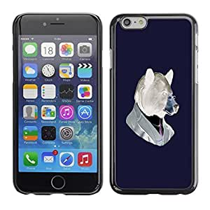Andre-case AMAZING-BASE Smartphone Funny Back Image Picture case cover protective Black Edge for Apple Iphone 6 plus - FocmcHnj3pV Funny Hipster Bear