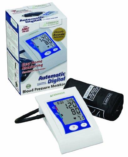 Veridian Premium Digital Blood Pressure Monitor,