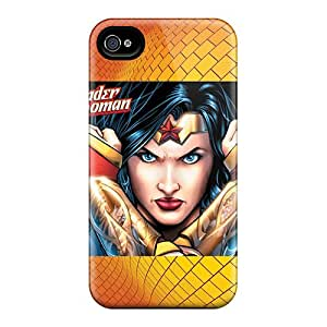 Durable Cell-phone Hard Cover For Iphone 6plus With Allow Personal Design High-definition Wonder Woman Pictures JonBradica