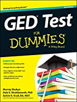 GED Test For Dummies, 3rd Edition Front Cover