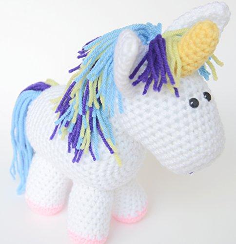 Crochet Unicorn Stuffed Animal – Plush Unicorn Toy