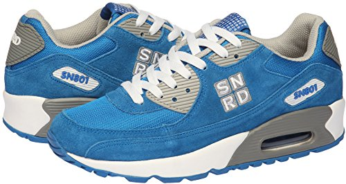 Unisex Casual Air Sneakers Sports Shoes Blue Cushion SN801 Fashion RqCxpc