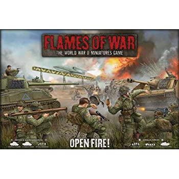 Amazon Com Flames Of War Open Fire 2012 Toys Amp Games