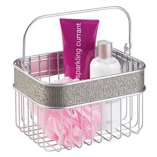 mDesign Bathroom Storage Organizer Conditioner