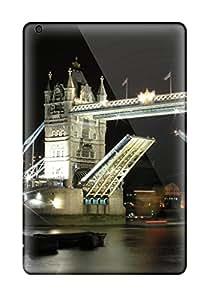 Tpu Case Cover Compatible For Ipad Mini 3/ Hot Case/ London Bridge Night 2631737K74808757