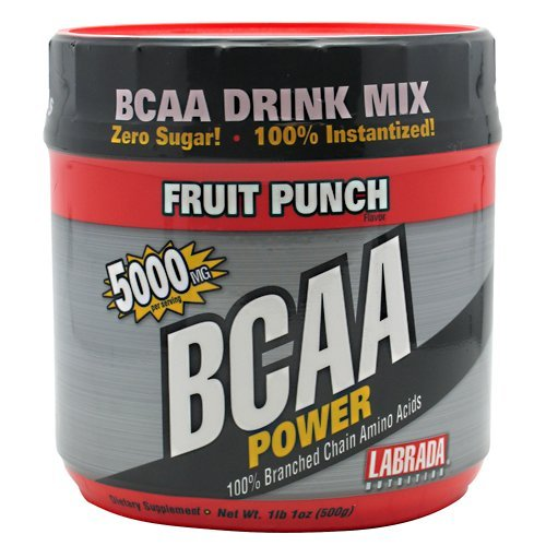 Labrada Nutrition BCAA Power, punch aux fruits, 500 grammes