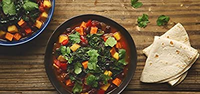 Brazilian Black Bean Stew and Tortilla and Swiss Chard by Chef'd partner Vegetarian Times