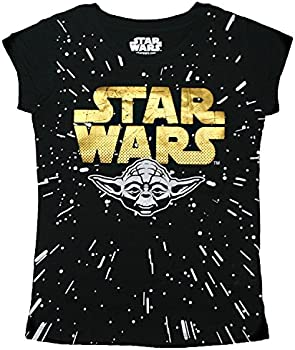 Star Wars Girls Gold Yoda T-Shirt