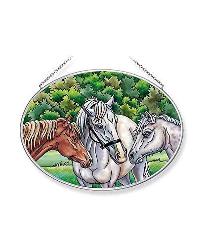Amia The The Horse Whisperers Glass Suncatcher, ()