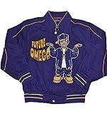 omega psi phi kids - Omega Psi Phi Boys Twill Jacket Extra Large (8yrs-10yrs old) Purple