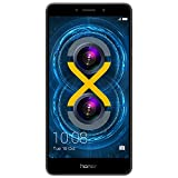 Huawei Honor 6X Dual Camera Unlocked Smartphone 32GB Gray (Small Image)