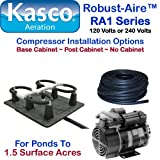 Kasco Marine Robust-Aire Aquatic Aeration System RA1NC - For Ponds to 1.5 Surface Acres, 120 Volts, No Cabinet Included