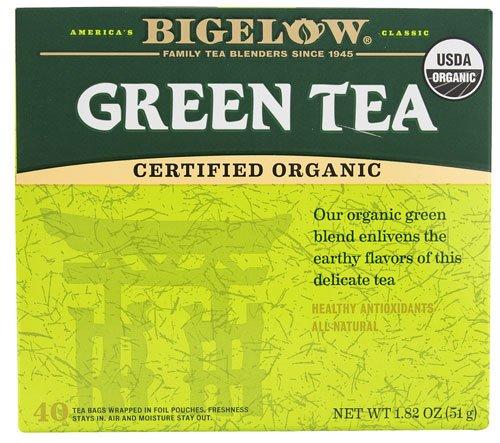Bigelow Tea Organic Green Tea -- 40 Tea Bags