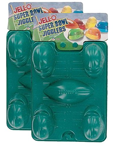 JELL-O Super Bowl Jigglers (2 Packs of 2 - 4 Total)