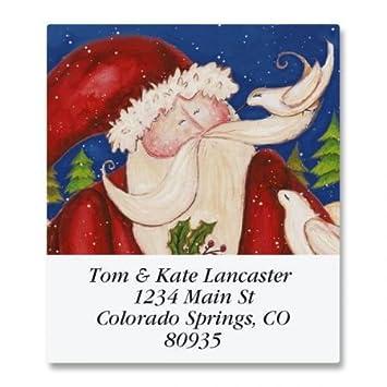 amazon com wishing joy square christmas return address labels