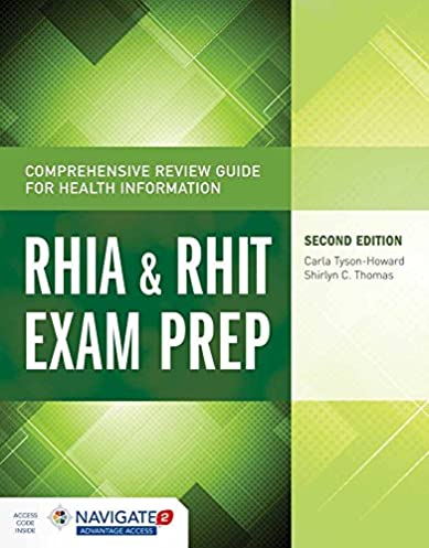 comprehensive review guide for health information rhia rhit exam rh amazon com Chakra Aura Color Meaning Chart Medical Coding Certification