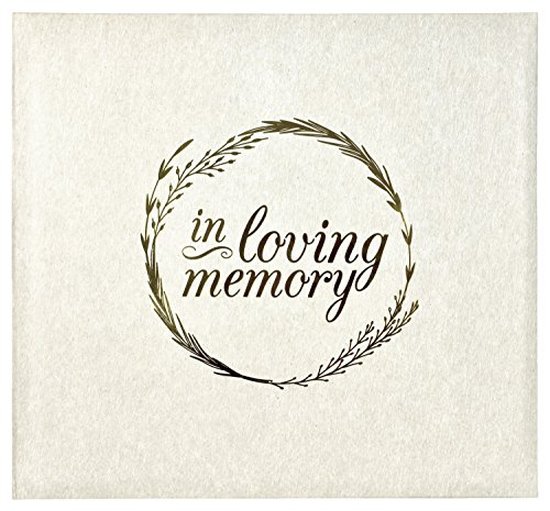MCS in Loving Memorial Photo Album, 13.5 x 12.5, Ivory