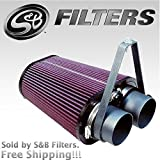 93 bronco cold air intake - S&B 75-2503 Cold Air Intake Kit Ford F-150 F-250 F-350 (Cleanable, 8-ply Cotton Filter) by S&B Filters