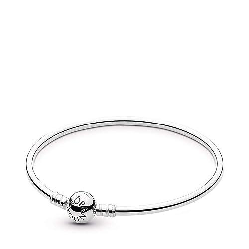 0538f26a6aeff PANDORA Bangle Bracelet with Signature Clasp