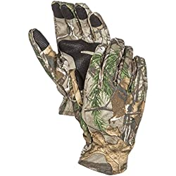 North Mountain Gear Camouflage Hunting Gloves Light to Mid-weight Smart Phone Compatible With Sure Grip Palms Archery Accessories Hunting Outdoors Water Resistant