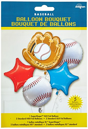 Anagram International Baseball Bouquet, (Baseball Halloween Ideas)