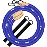 Gronk Fitness Inertia Wave Workout Ropes Edition | Heavy Battle Rope Alternative for Strength Training | Rubber Battle Ropes | Elastic Battle Ropes for an Abdominal Workout