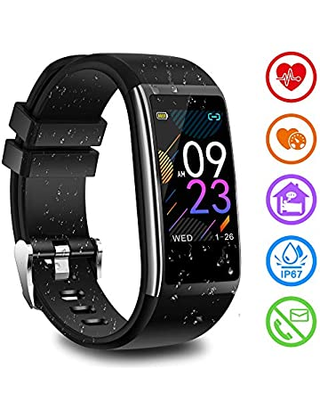 cbe72acbc3bd Fitness Tracker Heart Rate Monitor Blood Pressure Monitor Activity Tracker  with Pedometer Calorie Sleep Monitor Watch