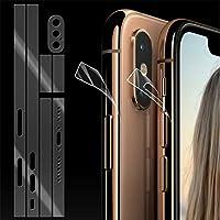 İphone Xs Max.6.5 Hidrojel Hayalet Yan Alt Üst Kamera Kaplama ŞEFFAF