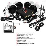 """GoHawk TN4-Q 1000W 4 Channel Amplifier 4"""" Full"""