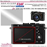 Micro Solution Digital Camera Anti-Reflection Anti-Fingerprint HD Display Protection Film (Pro Guard ARSH) for Sony Cyber-shot DSC-RX1R / DSC-RX1 and DSC-RX100M2 (DSC-RX100M II) / DSC-RX100 // PGARSHSORX-A