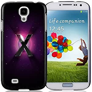 New Personalized Custom Designed For Samsung Galaxy S4 I9500 i337 M919 i545 r970 l720 Phone Case For 3D Letter X with Halo Background Phone Case Cover