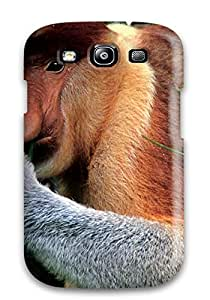 Galaxy S3 Hard Case With Awesome Look Monkey