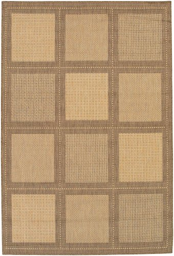 Recife Cocoa Summit Natural - Couristan 1043/3000 Recife Summit 8-Feet 6-Inch by 13-Feet Rug, Natural Cocoa