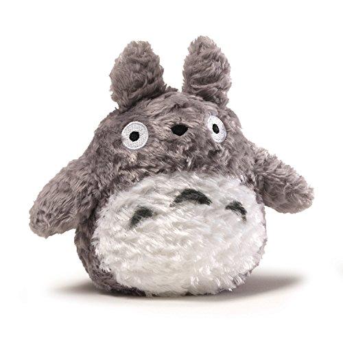 (GUND Fluffy Totoro Stuffed Animal Plush in Gray, 6