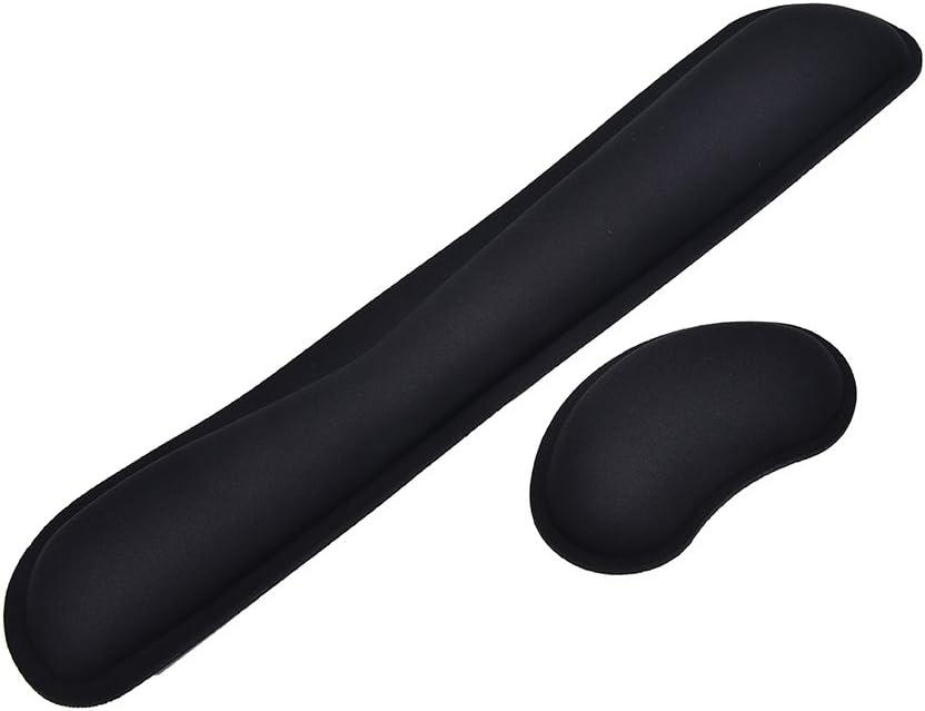 Leyouyou520 Black PC Keyboard Cushion Foam Pad Wrist Arm Hands Rest Support Comfort Platform