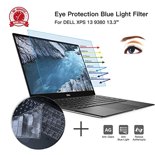 CaseBuy Eye Protection Blue Light Blocking Anti Glare Computer Screen Cover for New 2019 DELL XPS 13 9380 13.3