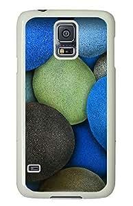 Samsung Galaxy Note4 Colored Rocks PC Custom Samsung Galaxy Note4 Case Cover White