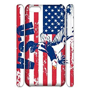 ALICASE Diy 3D Protection Hard Case American Retro Flag For Iphone 5C [Pattern-1]