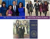 The First Family (3) Commemorative ''12 Page Calendar - Gift Set