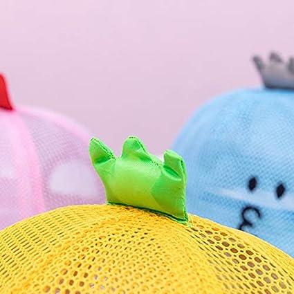 Kanggest Berretto da Baseball Bambino con Corona Imperiale per 1-3 Anni Baby Estate Lettera Cotone Cappello da Sole Cappellino da Baseball Berretto con Visiera Cappello dei Bambini-Rosa