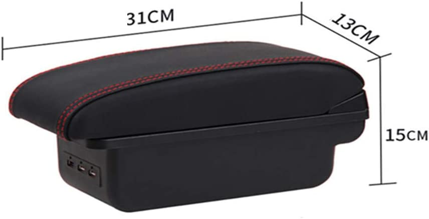 LSYBB For MINI Cooper R50 R52 R53 R56 R57 R58 F55 F56 F57 Compatriot R60 F60 Armrest Style Car Accessories Box