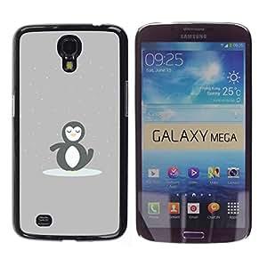 PIG - FOR Samsung Galaxy Mega 6.3 - CUTE MINIMALIST PENGUIN - Dise???¡¯???€????€????¡Ào para el caso de la cubierta de pl??&AE