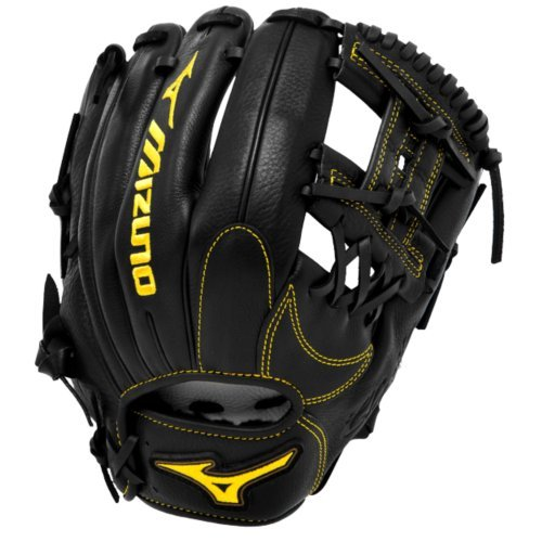 Glove Right Hand Thrower (Mizuno GCP66SBK Classic Pro Soft Baseball Glove, 11.5-Inch, Right Hand Throw)