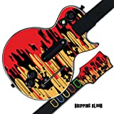 Mightyskins Protective Skin Decal Cover Sticker for GUITAR HERO 3 III PS3 Xbox 360 Les Paul - Dripping Blood